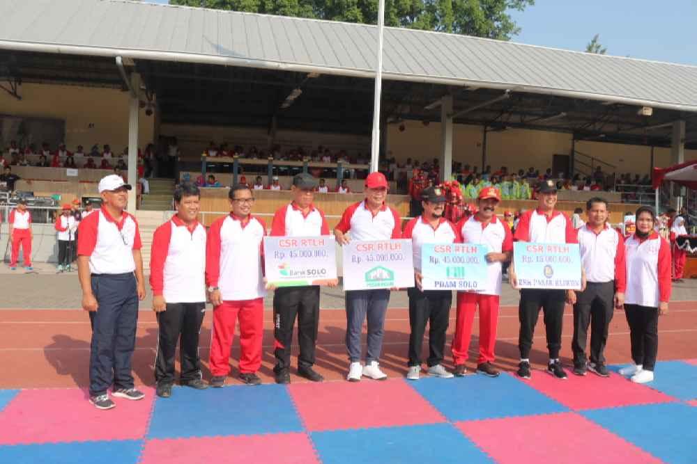 PPK Pedaringan Serahkan CSR Ke Pemkot Surakarta