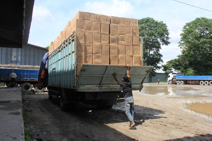 Pedaringan Sukses Distribusikan Produk Unilever Sampai Merauke