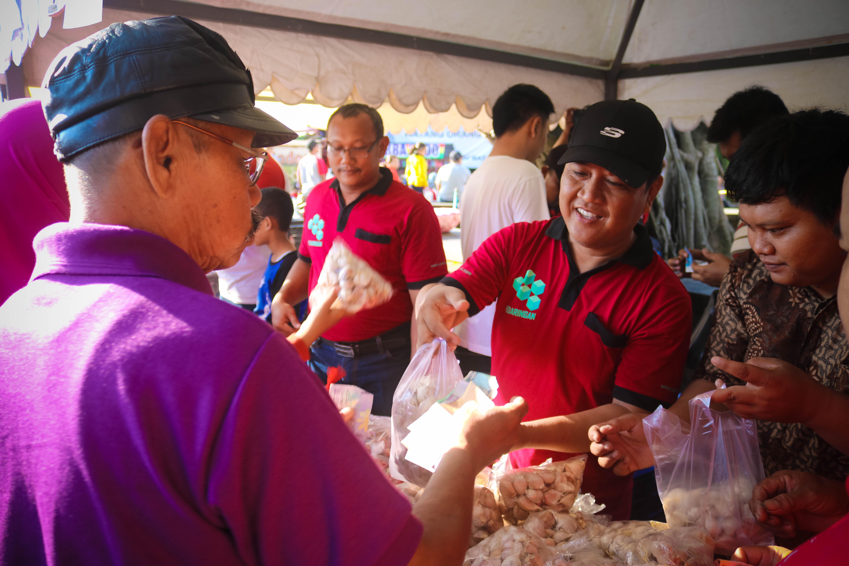 Kegiatan Operasi Pasar Bawang TPID Kota Surakarta